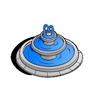 Fountain Clip Art Download.
