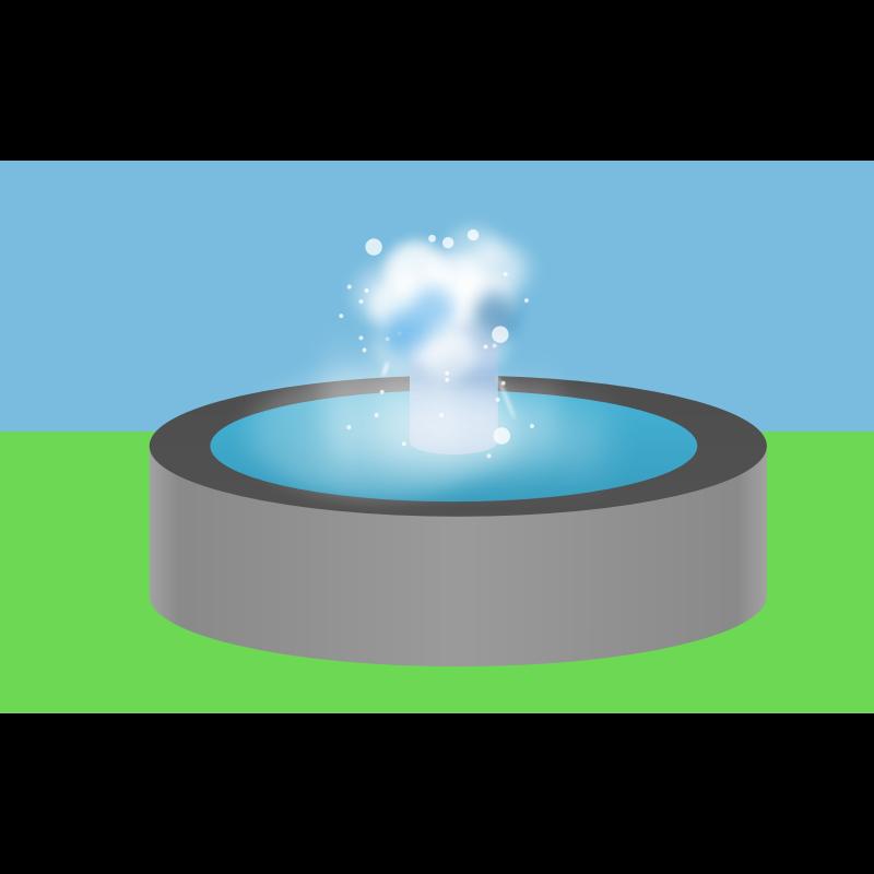 Fountain Clipart.