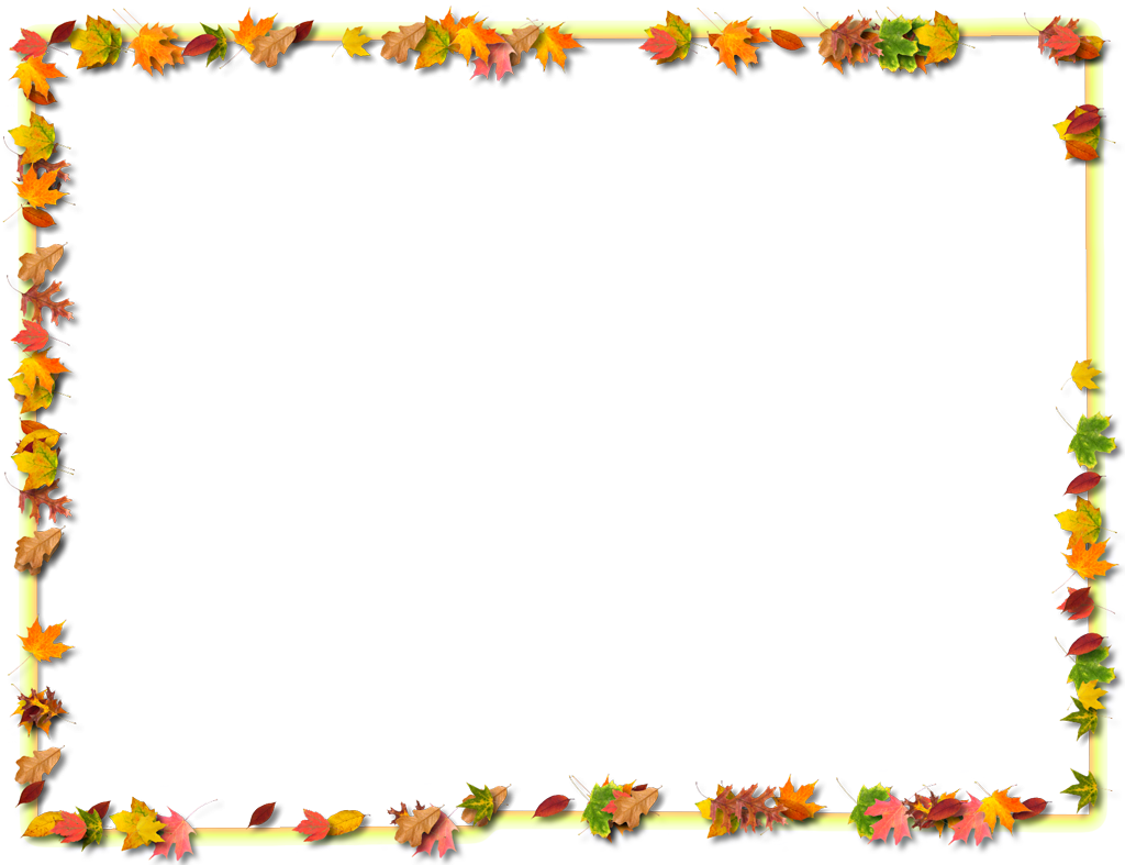 Collection Fall Page Borders Pictures.