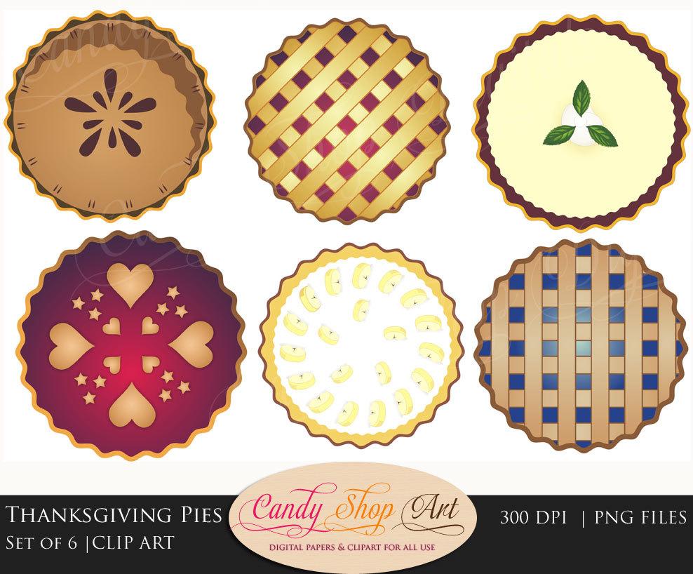 Cream Pie Clipart.