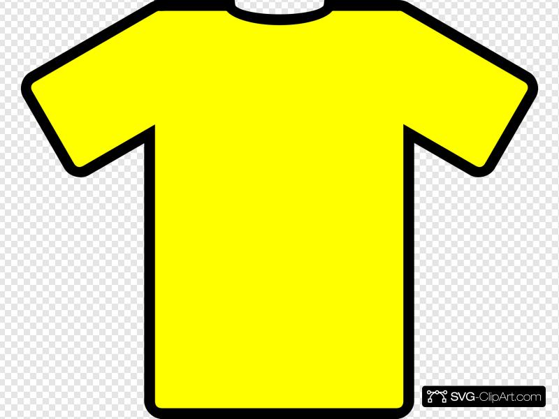 Yellow Football Top Clip art, Icon and SVG.