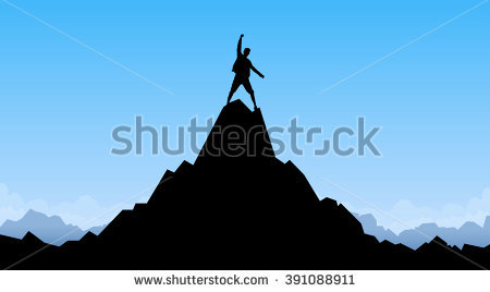 Mountain Peak Stock Images, Royalty.