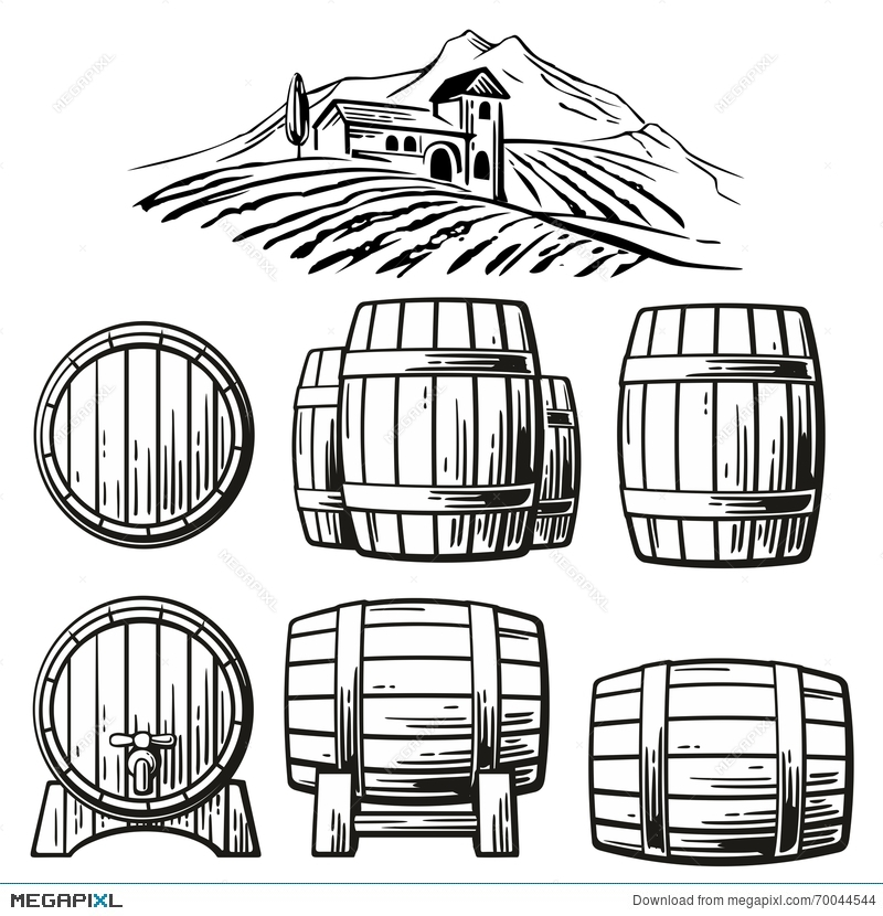 Barrel Vector at GetDrawings.com.
