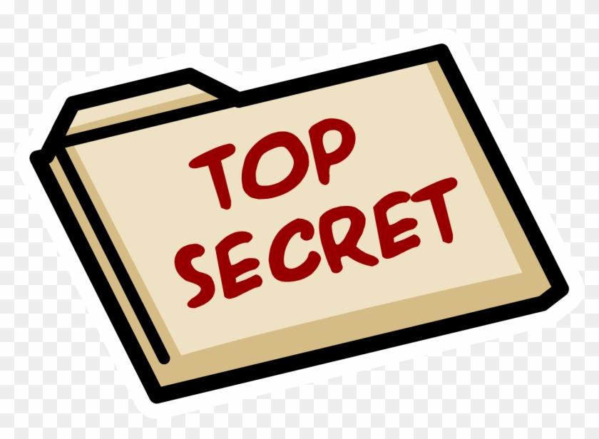 Top Secret Folder Png.