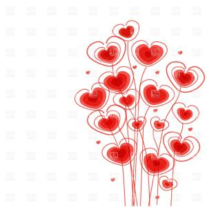 Exclusive Knitting Needles In The Heart Shaped Clew Vector Clipart.
