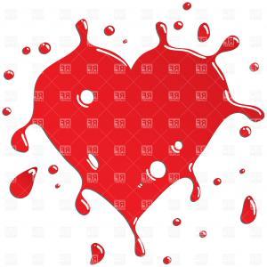 Top Heart Vector Clipart Graphic.