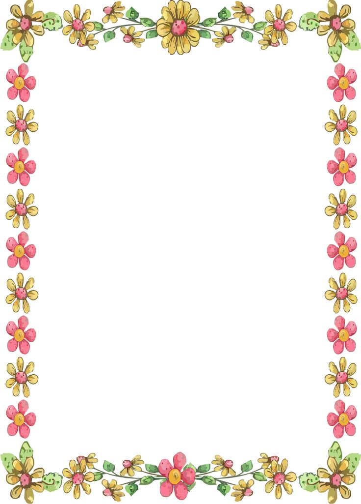 Flower Border Images Free 20 Free Cliparts