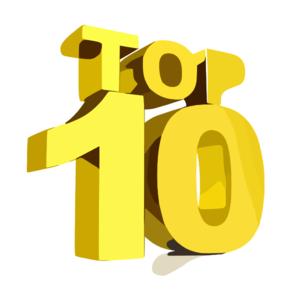 Top Ten clip art.