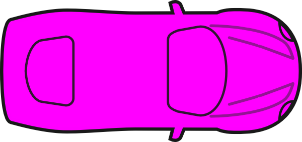 Police Car Clipart Top View.
