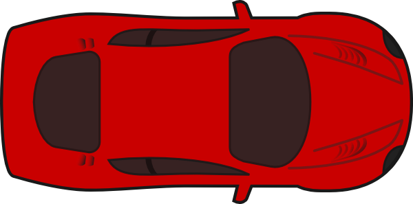 Truck Top View Clipart.