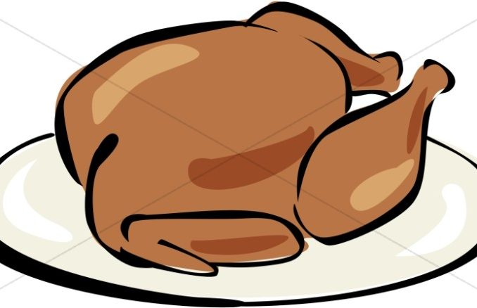 Cooked Turkey Clipart Free.
