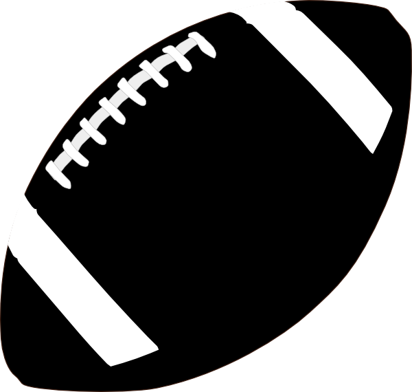 Free American Football Clipart Black And White, Download.