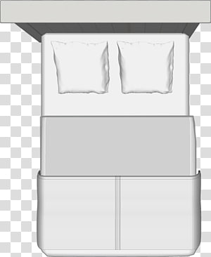 Top View Bed PNG clipart images free download.