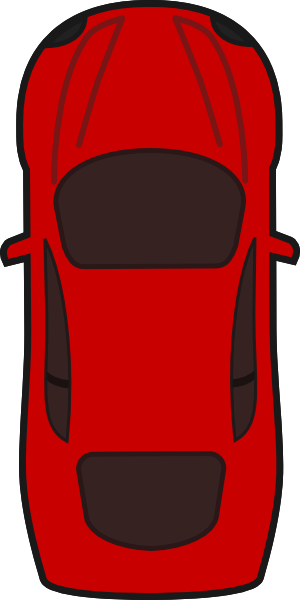 Car clipart top view 1 » Clipart Station.