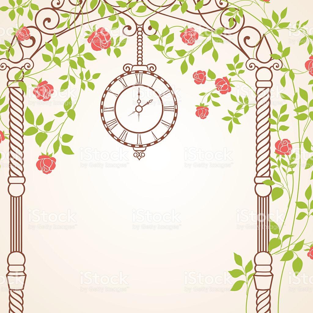 Wedding Arch stock vector art 526918899.