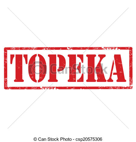 Vector Clipart of Topeka.
