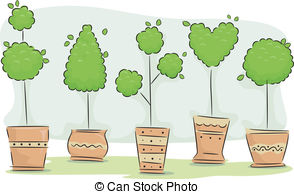 Topiary Illustrations and Clip Art. 185 Topiary royalty free.