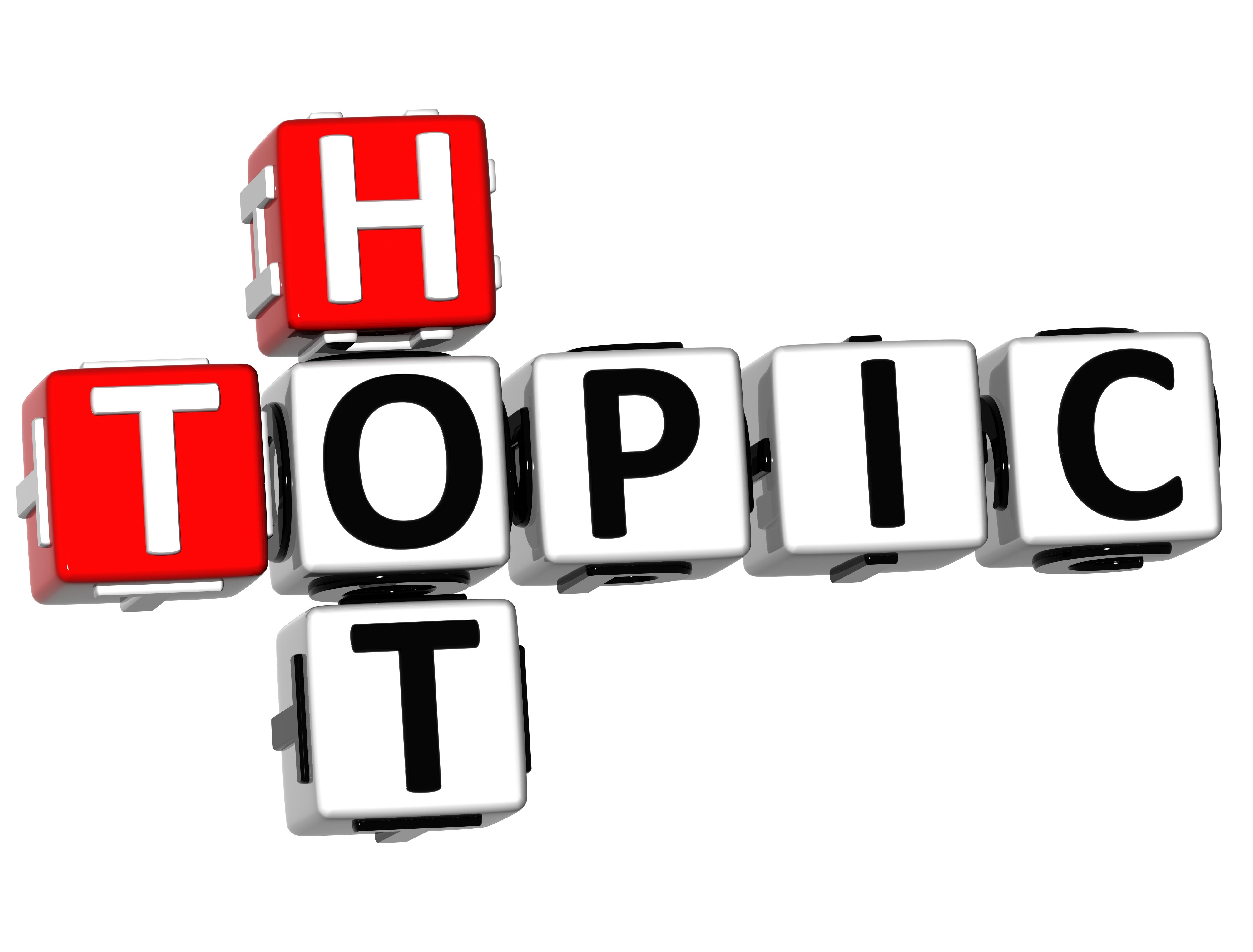 Clip Art Hot Topic Clipart.