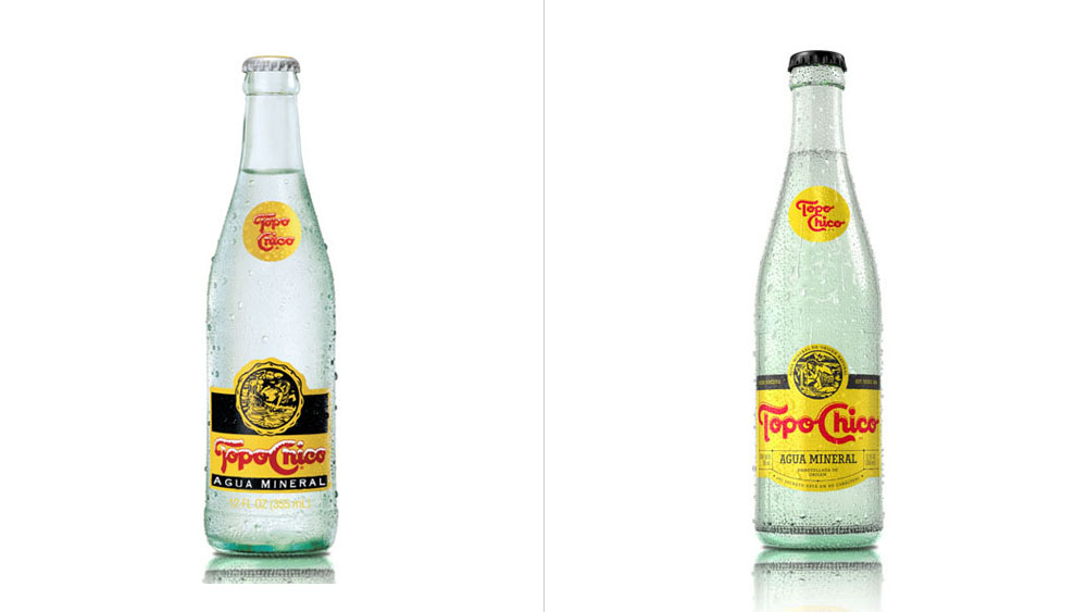 Brand New: New Logo and Packaging for Topo Chico by Interbrand.