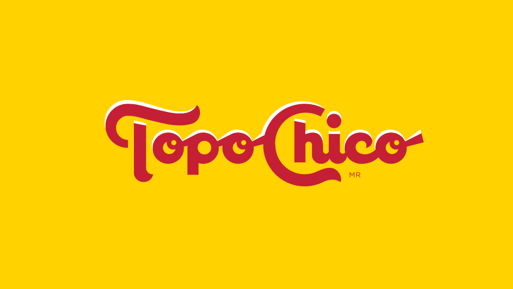 New Logo and Packaging for Topo Chico by Interbrand.