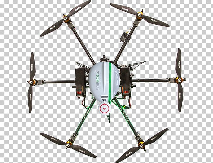 Unmanned Aerial Vehicle Helicopter Rotor Topography.