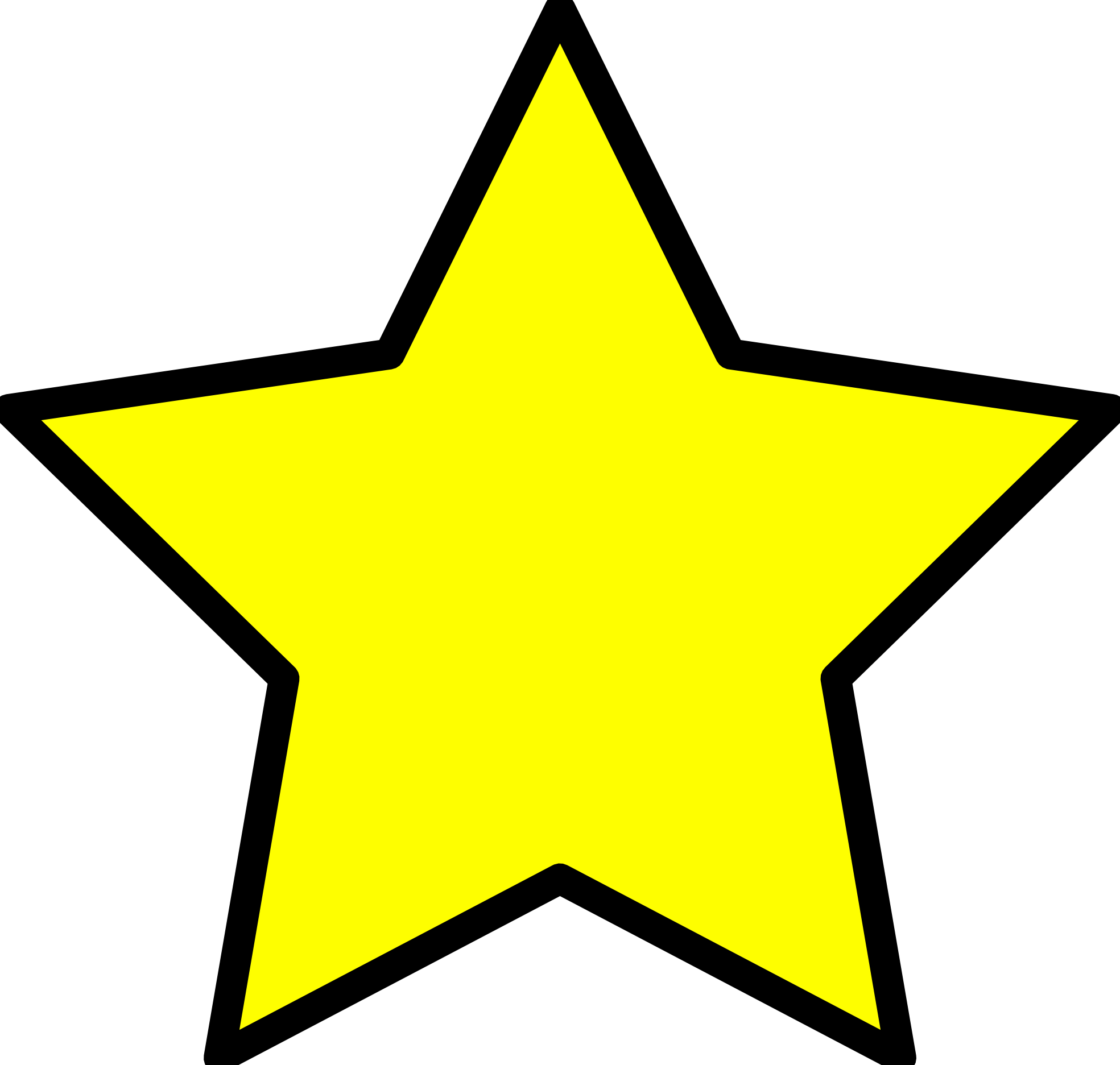 Star Topper Clipart.