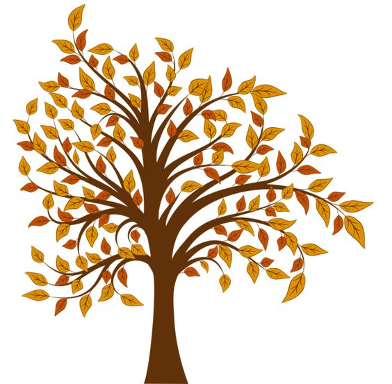 Toppled tree clipart.
