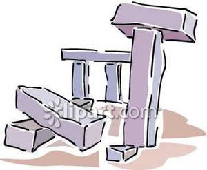 Toppled_Stones_Stonehenge_Royalty_Free_Clipart_Picture_081020.