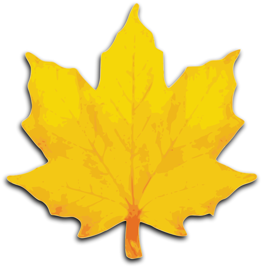 Leaf Background Clipart.