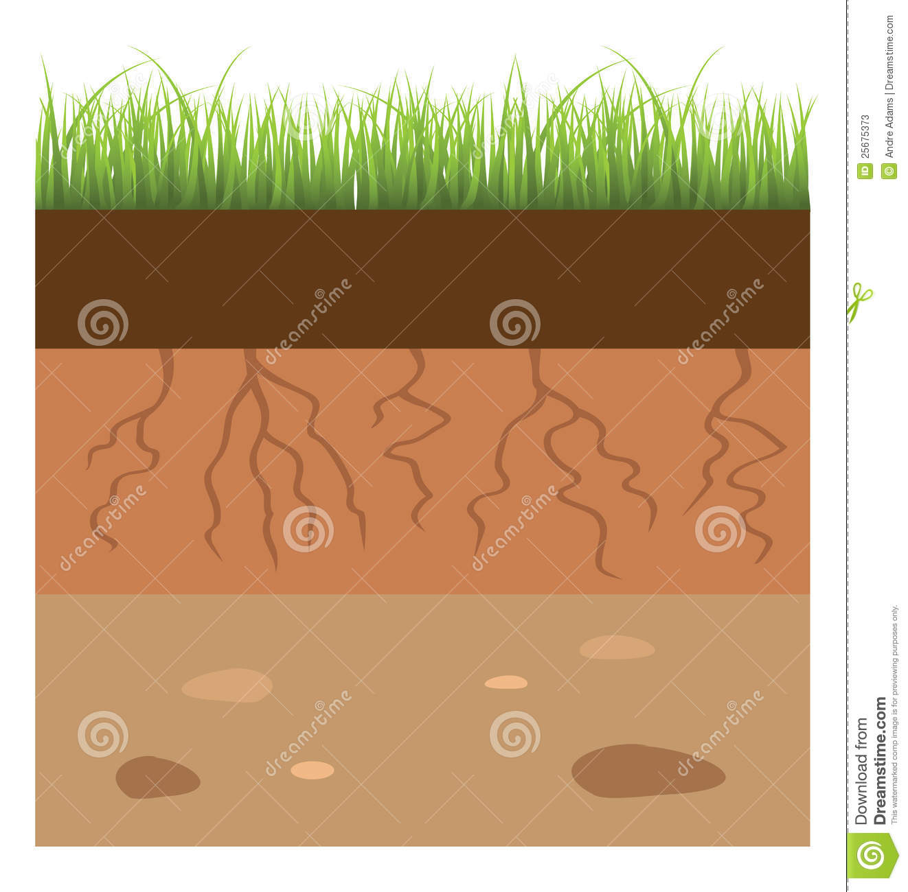 Soil Cartoon Clipart.