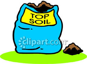 Bag Of Soil Clipart.