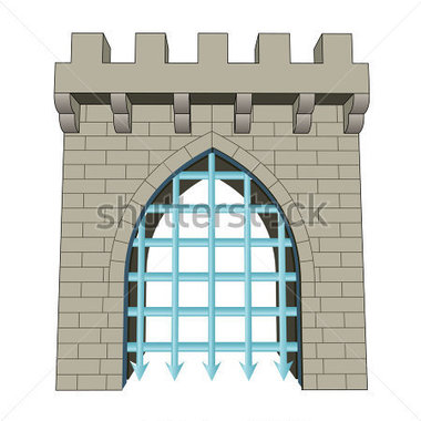 Gate Closed Clipart.