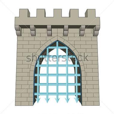 Gate Closed Clipart.