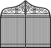 Clipart of Fixing Fence u10218185.