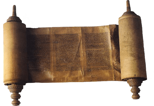 Torah Scroll transparent PNG.