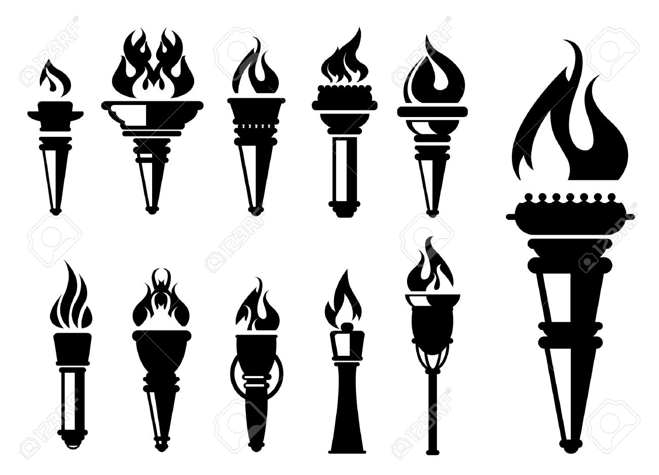 10,379 Torch Stock Vector Illustration And Royalty Free Torch Clipart.