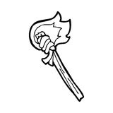 Black White Torch Clip Art Stock Photos, Images, & Pictures.
