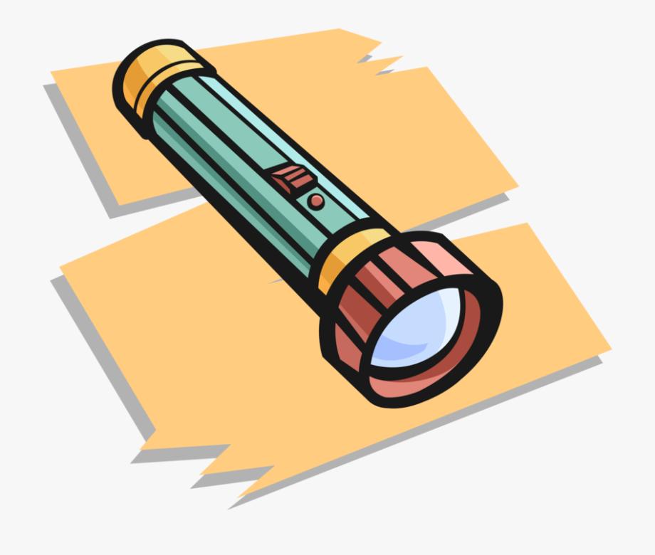 Flashlight Clipart Torch Light.