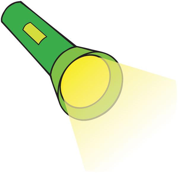 Flashlight Clipart.