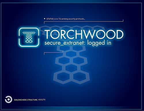 Font ID: Torchwood from Doctor Who..