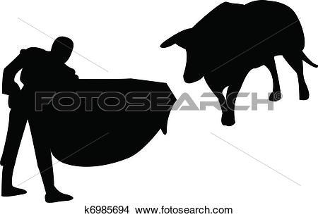 Clipart of Toreador k6985694.