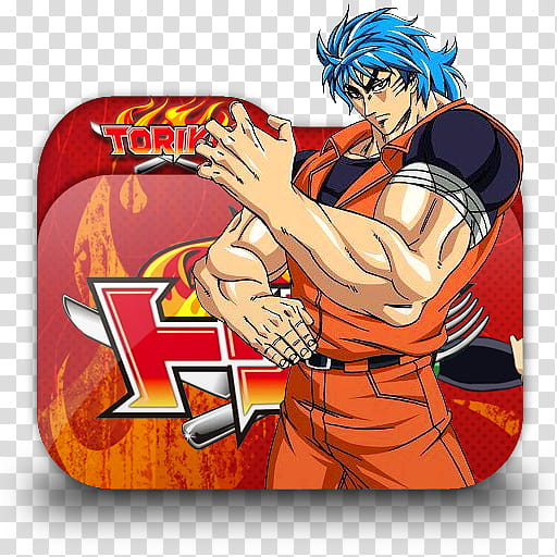 Top Anime Folder Icon, Toriko transparent background PNG.