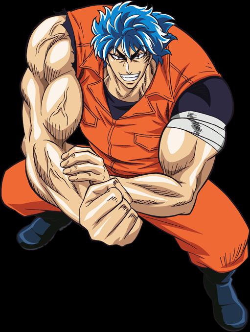 Toriko, Dragon Ball and God of Highschool vs The Six Heroes.