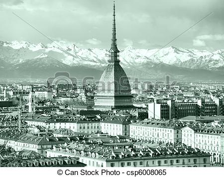Stock Images of Turin view.