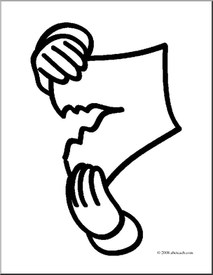 Paper Tear Clipart.