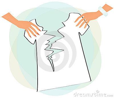 Torn shirt clipart.