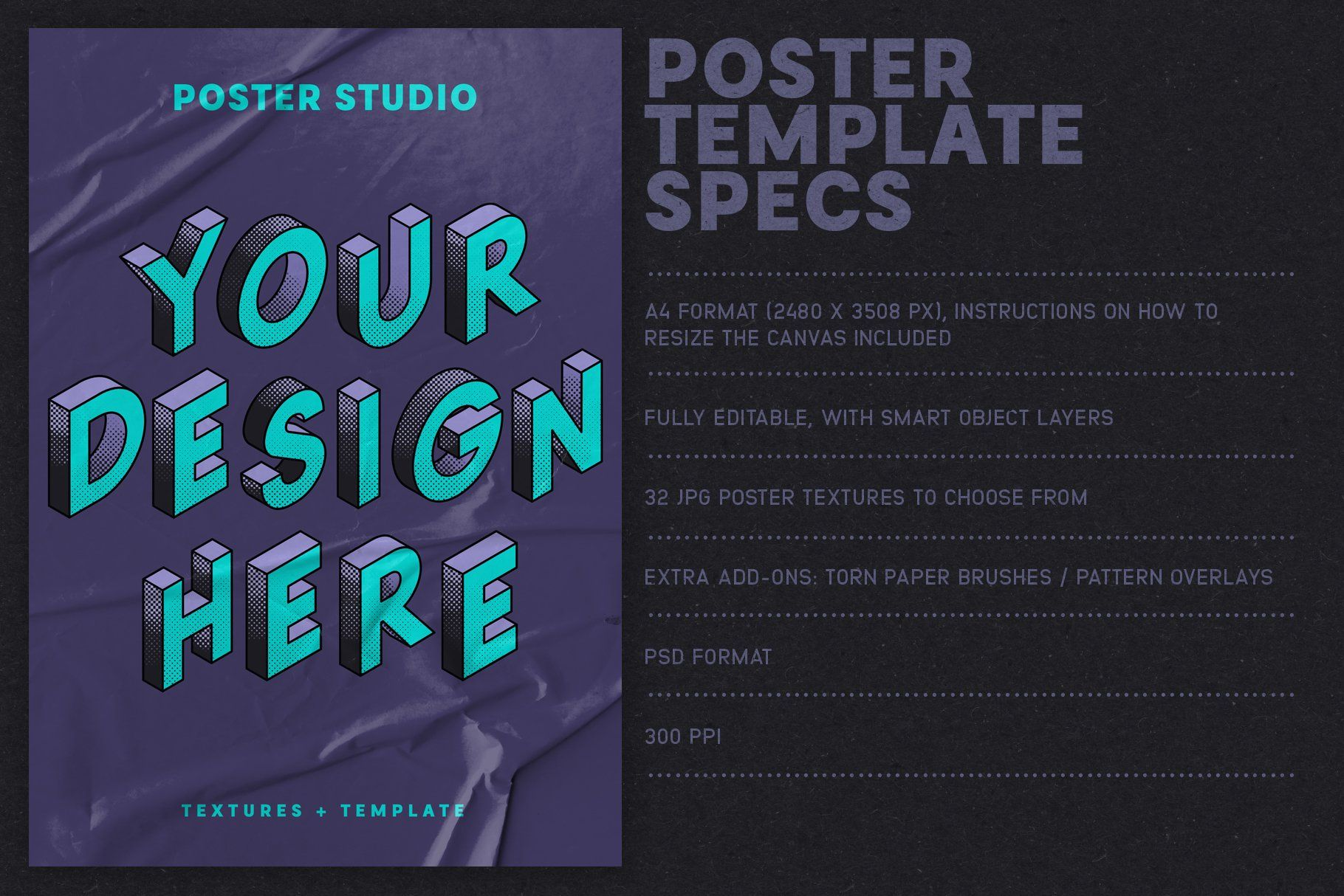 Poster Studio for Photoshop , #Affiliate, #carefully.