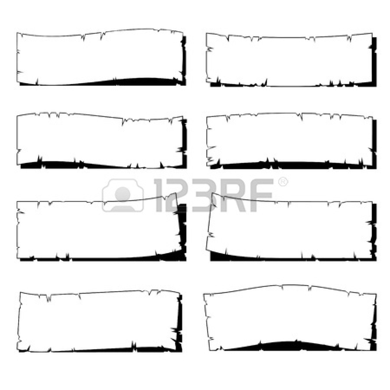 Torn Notebook Paper Clipart.