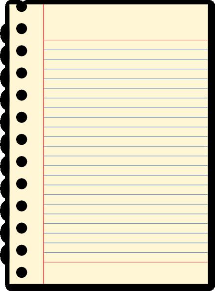 Torn Notebook Paper Clipart.