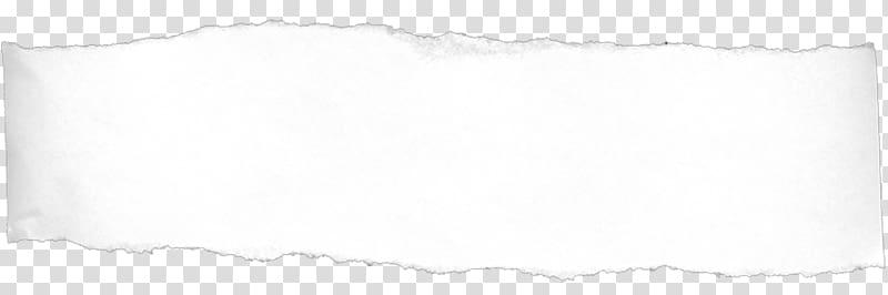Rectangular white banner illustration, Ripped Torn Paper.